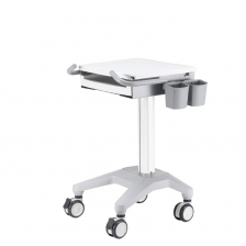 Medicínsky vozík na kolieskách pre notebook