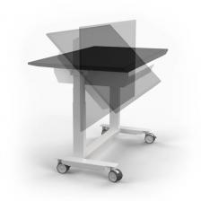 Multifunkčný stojan pre prezentácie až interaktívny stôľ 2v1