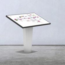 Podlahový držiak pre informačné obrazovky 01