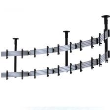 Systém stropného uchytenia pre zakrivenú LCD Video stenu 01