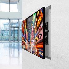 Výsuvný držiak na stenu pre LCD obrazovkou